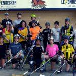 Premiere eines Inlinehockey-Workshops